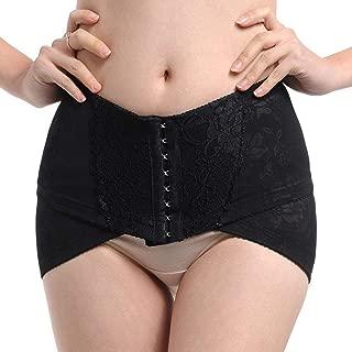 ZOOARTS 2019 New Pelvic Posture Correction Belt Hip-Up Postpartum Recovery Band (Black, XXXL)