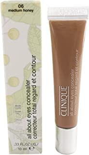 Clinique All About Eyes Concealer .33 oz Boxed, Medium Honey 06