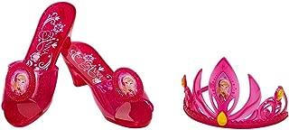 Disney Frozen 84305 Anna Tiara & Shoe Set, One Size, Red (Pack of 2)