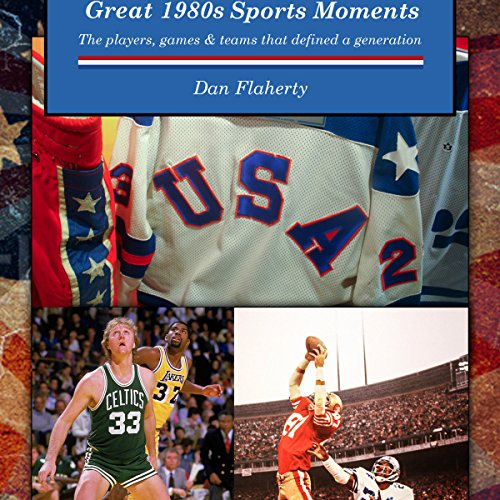 Great 1980s Sports Moments audiobook cover art