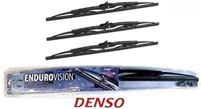 07-14 FJ CRUISER DENSO ENDURO-VISION WIPER BLADES FRONT LEFT + RIGHT and CENTER