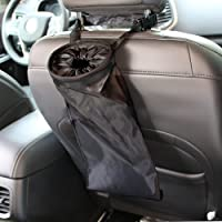 Deals on IPELY Universal Car Vehicle Headrest Litter Trash Garbage Can