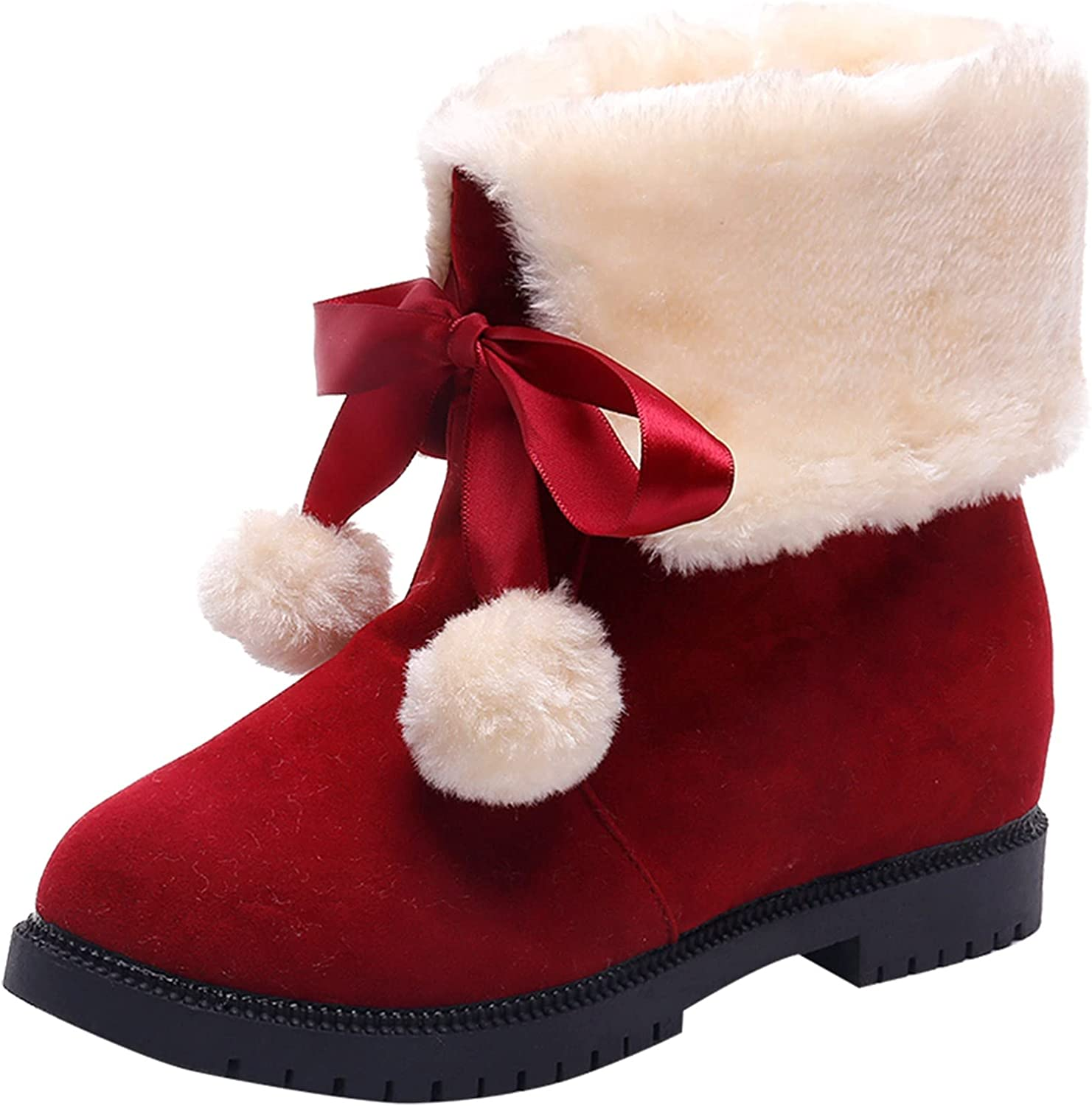 Euone_Clothes Boots for Women, Fashion Women's Shoes Thick-Soled