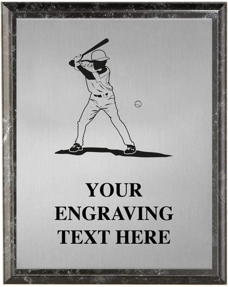 Crown Awards Baseball Plaques Trop Max 74% OFF Personalized Outstanding Batter
