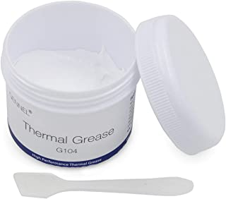 GENNEL 100gram White Thermal Grease Silicone Compound Paste for PC CPU Heatsink LED Chip Cooling