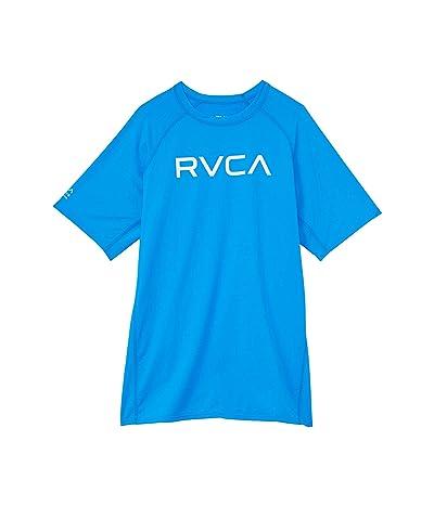 RVCA Kids Short Sleeve RVCA Rashguard (Little Kids/Big Kids)
