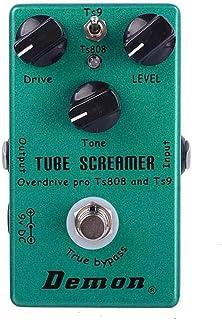 Efecto De Guitarra TS808 Tube Screamer Overdrive Pro Vintage Pedal eléctrica