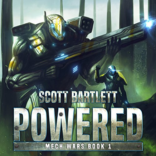 Powered audiobook cover art