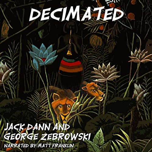 Decimated audiobook cover art