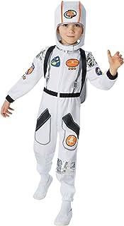زي رائد الفضاء الرسمي للاولاد من روبيز، بدلة رجل فضاء للاطفال الصغار مقاس M يناسب من سن 5 الى 6 سنوات (620504)