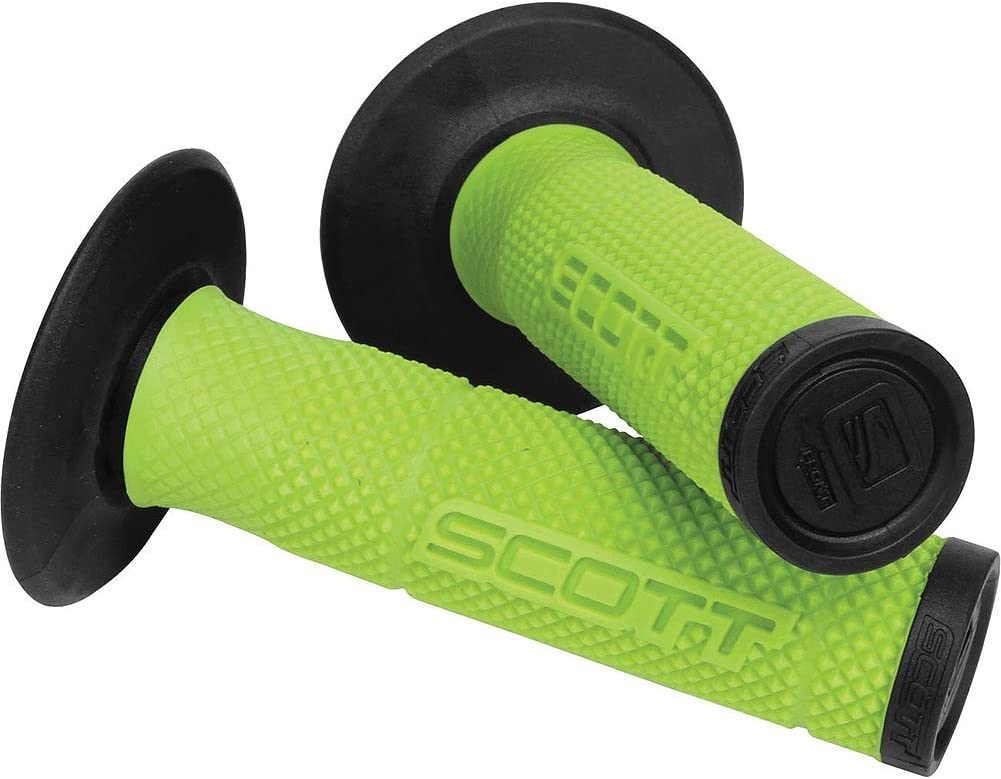 Sale Special Price Scott SX II MX Off-Road Dirt Bike Green New York Mall Grips Hand - Motorcycle