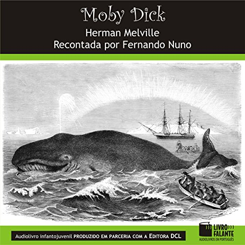 Moby Dick [Portuguese Edition] audiobook cover art