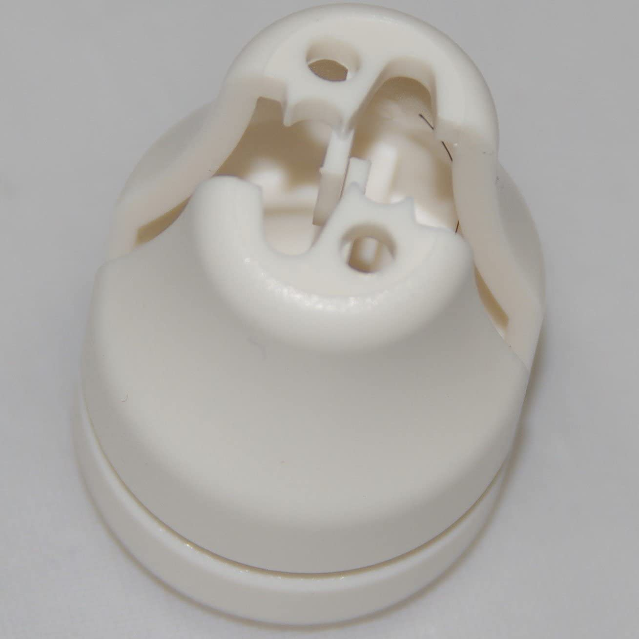 HomeAmore 8 Pack Safety White Blind Knobs. This Tassel Separates The Pull Cords When Excessive Pressure is Detected to Avoid Potential Child Or Pet Strangulation. A Smart Choice for Parents.