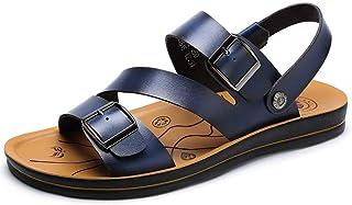 Sandalias para Hombre Ligero de Doble Uso Pisos Blandos Zapatos de Playa Verano Antideslizante Resistente al Desgaste Sandalia de Agua Informal Piscina de Agua para Piscina Deportes