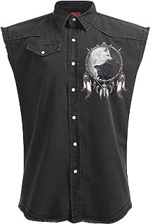 wolf sleeveless shirt