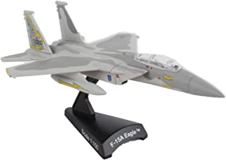 Daron Postage Stamp F-15 Eagle 5th Fighter Interceptor Sqn. 1/150 Scale, Gray