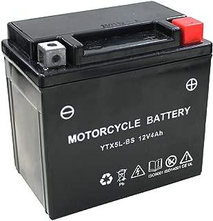 バイク用 バッテリー 液入り 充電済み YTX5L-BS ( CTX5L-BS / GTX5L-BS / FTX5L-BS 互換 )