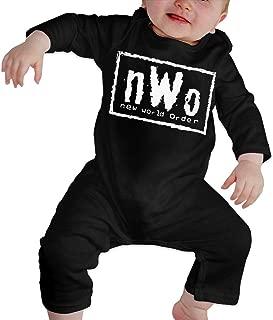 NWO Logo Baby Onesie Organic Long-Sleeve Bodysuit