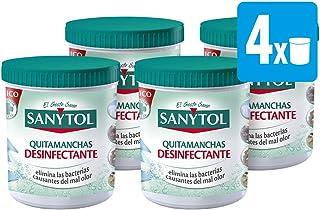 comprar comparacion Sanytol - Quitamanchas Desinfectante en Polvo, sin Lejía, Pack  4 x 450 gr, Total: 1800 gr
