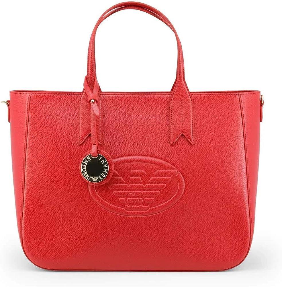 Emporio armani,borsa shopping per donna,in :pelle sintetica Y3D082