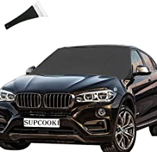 SUPCOOKI Car Windshield Cover for Snow and Ice, Huge Size 85