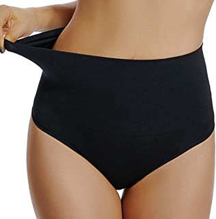 High Waist Thong Tummy Control Underwear Shaping Panties for Women Slimming Body Shaper Gridle