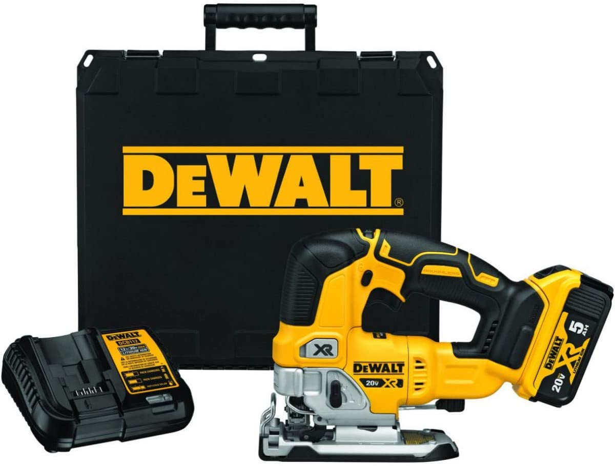 DEWALT 20V MAX XR outlet NEW before selling ☆ Saw DCS334P1 Jig