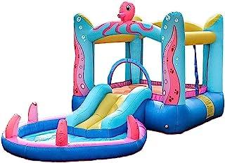 Barns uppblåsbara slott inomhus Mini uppblåsbar studsmatta Ocean Ball Pool Stygg slott Slide Chi Utomhus kul