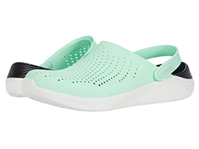 Crocs LiteRide Clog (Neo Mint/Almost White) Shoes