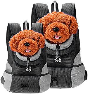 CozyCabin Latest Style Comfortable Dog Cat Pet Carrier Backpack Travel Carrier Bag Front for Small Dogs Carrier Bike Hikin...