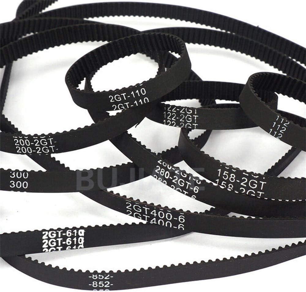 GT2 Close Loop Timing Belt 2mm Pitch 6mm Width 192mm Perimeter For 3D Printer CNC GT2-192mm