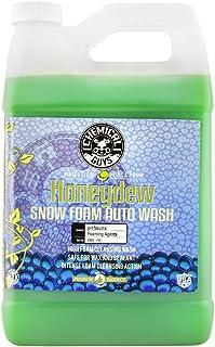Chemical Guys CWS_110 Honeydew Snow Foam Car Wash Soap and Cleanser (1 Gal), 128 fl. Oz (Gallon)