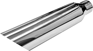 Universal Stainless Steel Muffler Delete Blast Pipe 2.5