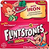 Flintstones Chewable Kids Vitamins with Iron, Multivitamin for Kids & Toddlers with Vitamin D,...