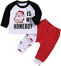 santa is my homeboy baby outfit