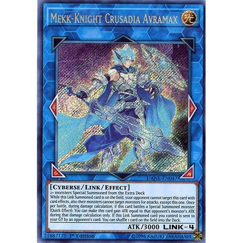 Mekk-Knight Crusadia Avramax - DANE-EN047 - Secret Rare - 1st Edition