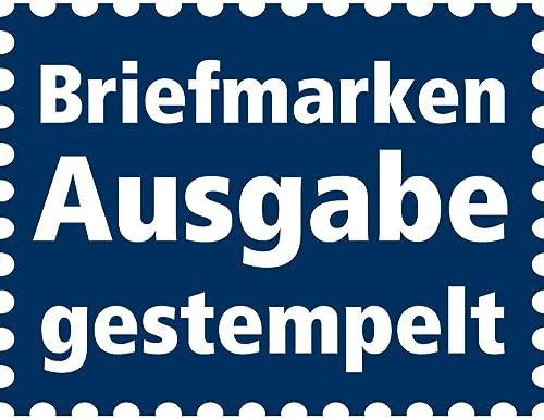 Goldhahn Deutsches Reich Zusammendruck S126 gestempelt Hindenburg 1934 1936 (6+A5+6) Briefmarken für Sammler