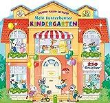Mein kunterbunter Kindergarten: Stickern - Malen - Gestalten