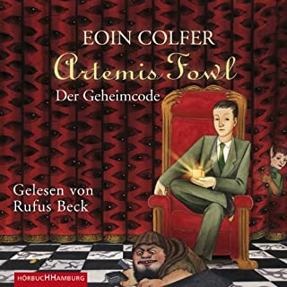 Der Geheimcode audiobook cover art