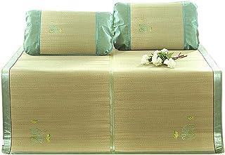 Colchones Estera de Dormir de Verano Ropa de Cama Plegable de Verano, Estera de Bambú Almohadilla de Limpieza de Verano para Dormitorio (Size : W1.8mx2.00m)