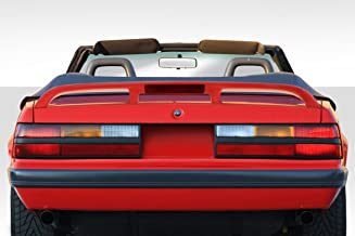 Brightt Duraflex ED-IBP-470 Cobra Look Rear Wing Spoiler - 1 Piece Body Kit - Compatible With Mustang 1979-1993