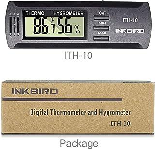 Inkbird ITH-10 Mini Portatil Medidor Temperatura Humedad,LCD
