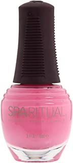 SpaRitual Infinitely Loving Love is in The Air Nail Lacquer, Bright Pink