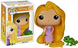 Funko Rapunzel & Pascal: Tangled x POP! Disney Vinyl Figure & 1 POP! Compatible PET Plastic Graphical Protector Bundle [#147 / 05135 - B]