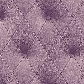 Norwall Illusions LL29573 Tufted Effect Wallpaper, Violet & Light Purple