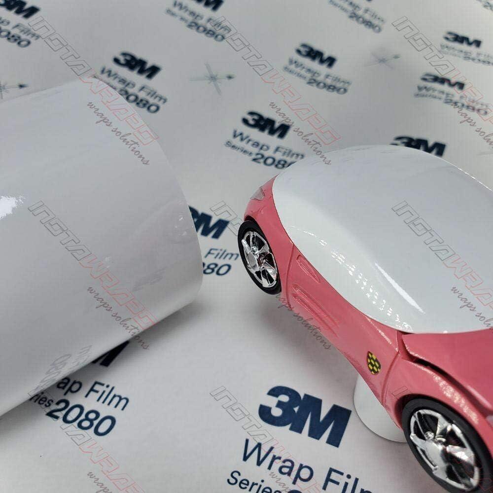 3M 2080 G10 Gloss White 60in x 12in Car Nippon regular Popular brand agency ft 5 Wrap Vinyl Fil Sq