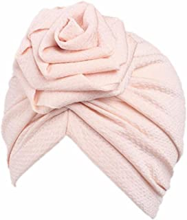 Tiean Children Baby Girls Women Boho Hat Beanie Scarf Turban Head Wrap Cap