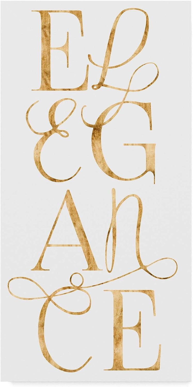 Trademark Fine Art Elegant and Dazzling I by Grace Popp, 10x19