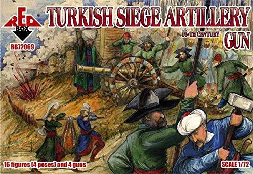 Red Box rb72069 – Modèle Kit Turkish Victoires Gun Artillerie
