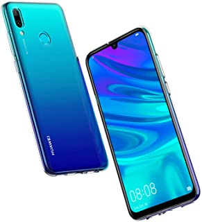 NEW'C Funda para Huawei P Smart 2019, Honor 10 Lite, Anti- Choques y Anti- Arañazos, Silicona TPU, HD Clara